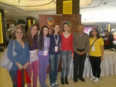 Задачи, Отговори и Резултати от Европейска олимпиада по математика за момичета EGMO 2014