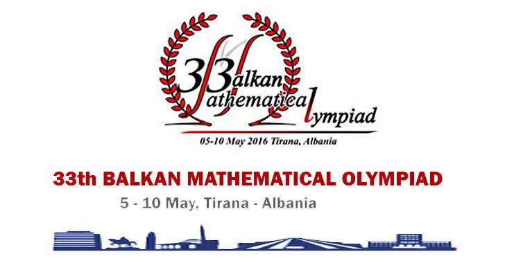 Балканска Олимпиада по Математика 2016