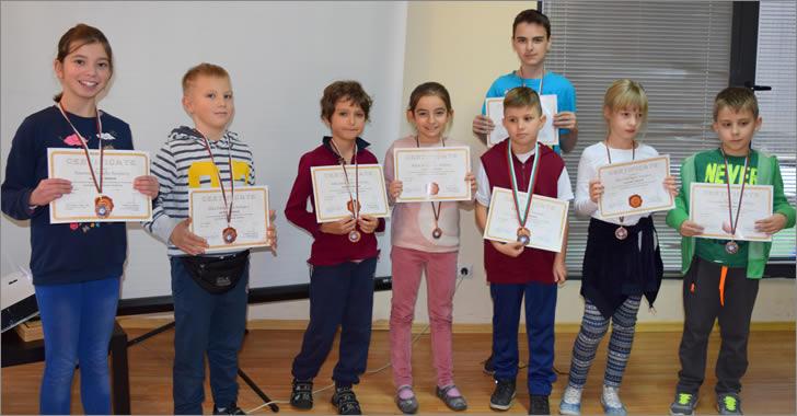 Математика без граници - медалистите на ЕСПА
