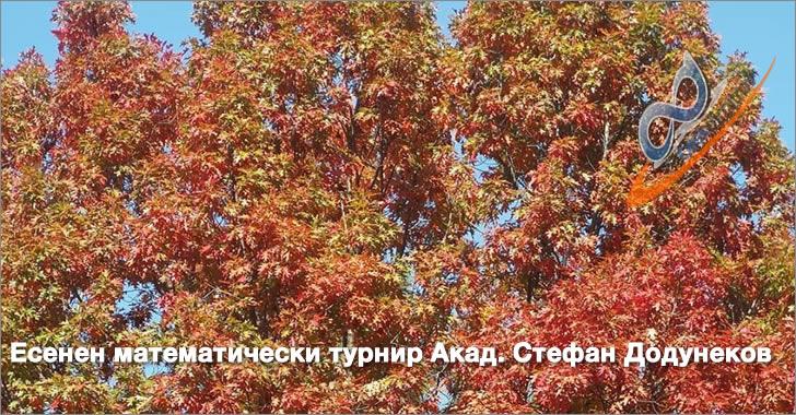 Уикенд на Есенния математически турнир