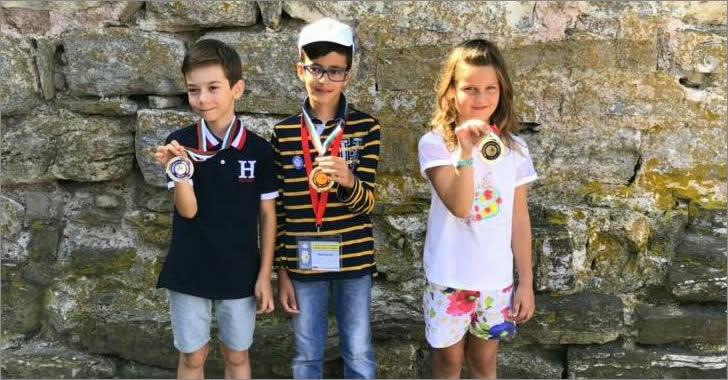 ЕСПА - Математика без Граници 2018 медалисти