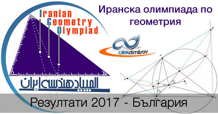 Резултати от Иранска Олимпиада по Геометрия 2017