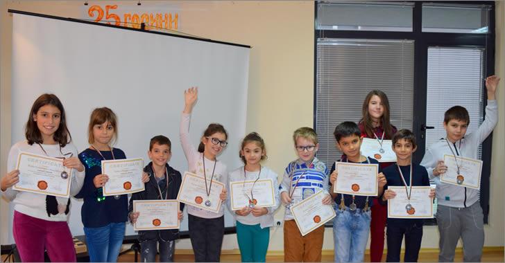 Математика без граници - сребърни медалисти от ЕСПА