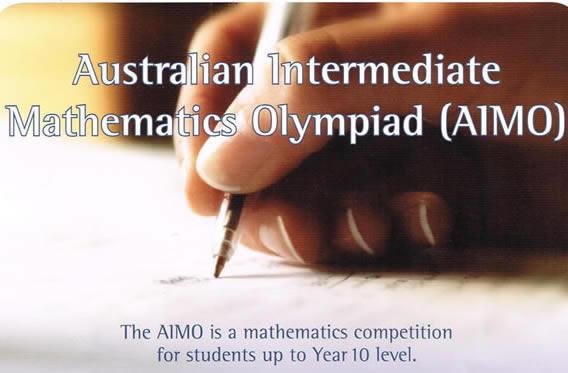 Математическо състезание AIMO - Australian Intermediate Mathematics Olympiad