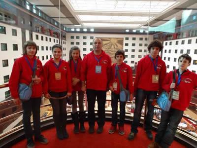 Частно училище ЕСПА е единственият представител на България на международното математическо състезание WMTC Пекин 2013