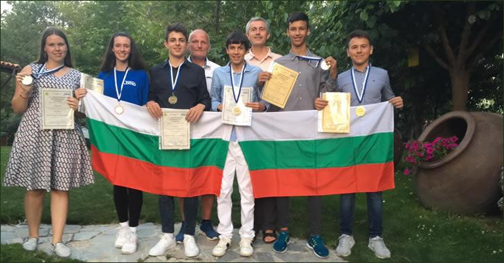 JBMO 2019 - Bulgatian team