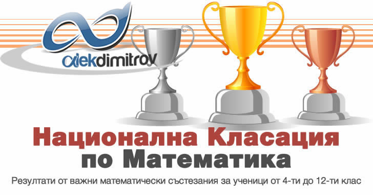 Математически класации - Национално класиране за 5 и 6 клас